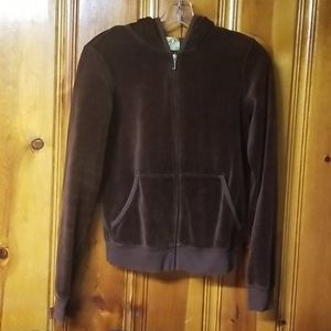 Juicy Couture Large zipper hoodie